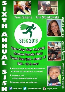 This year's SJ5K is May 1st, 2016