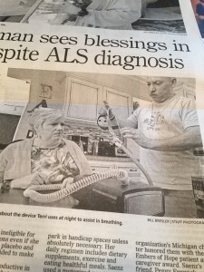 Canton Woman Sees Blessings in Life Despite ALS Diagnosis